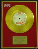 "T. REX - 24Carat Gold 7"" Disc - CHILDEN OF THE REVOLUTION"
